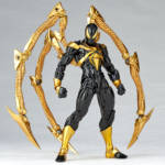 Revoltech Black and Gold Iron Spider 003