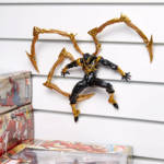 Revoltech Black and Gold Iron Spider 010