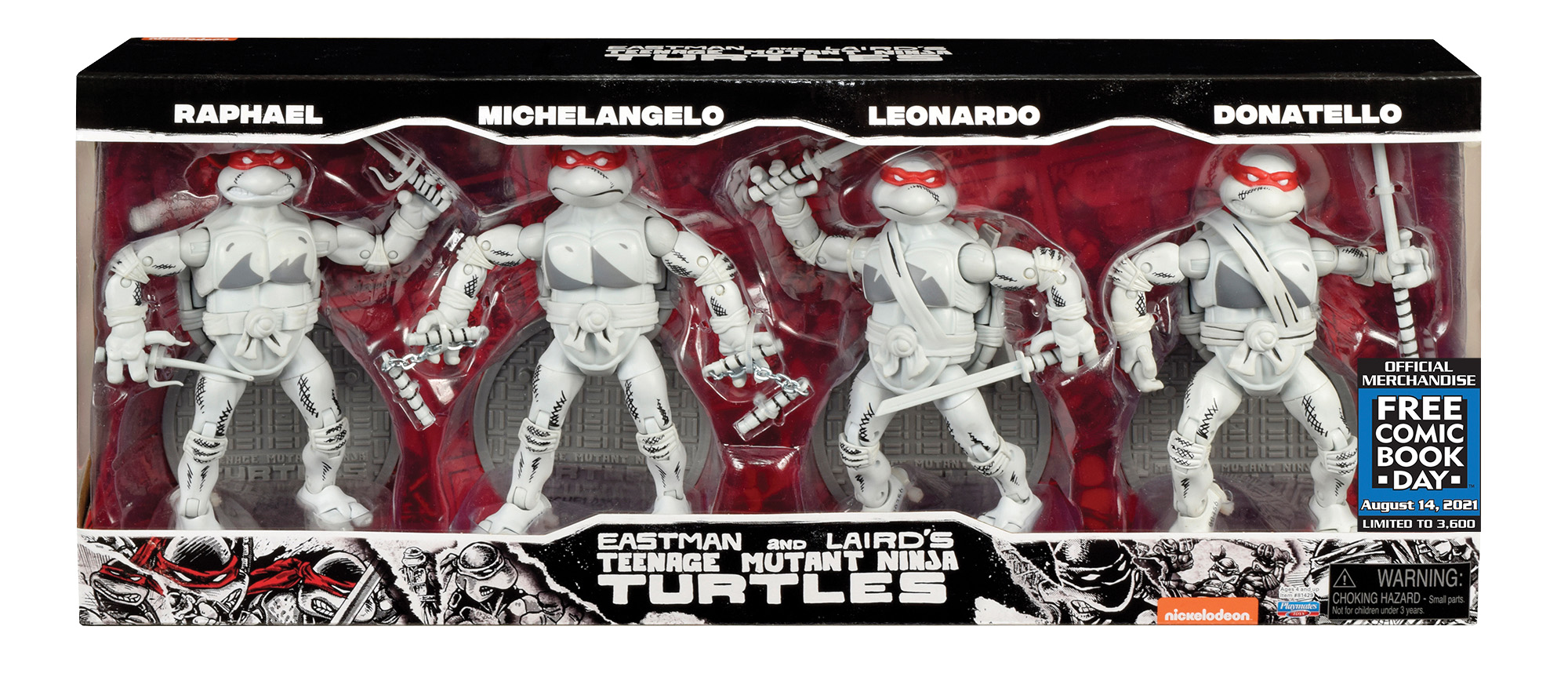TMNT Elite Series Turtles BW