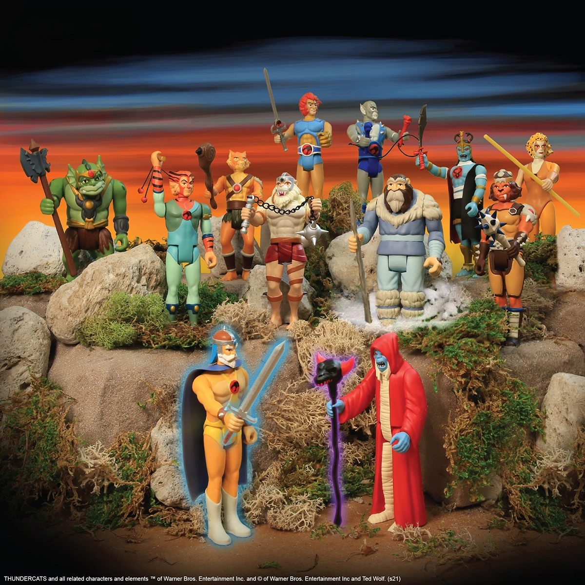 Thundercats ReAction Figures by Super7