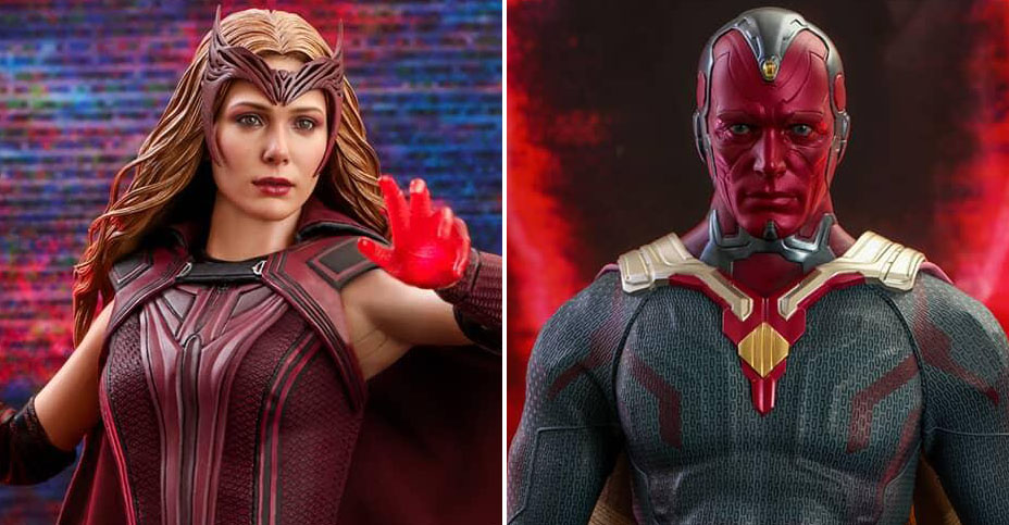 WandaVision Hot Toys Figures Preview