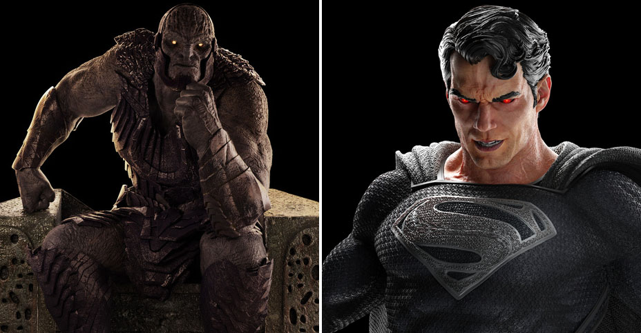 z Weta Justice League Superman and Darkseid