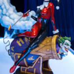 DC Sideshow Harley Quinn and The Joker Diorama 1