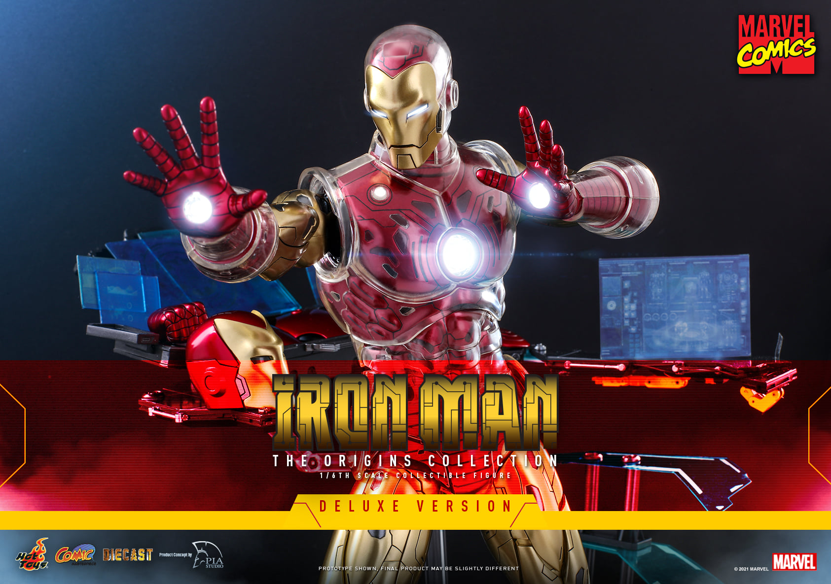 Hot Toys Iron Man Origins Collection DX 001