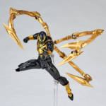 Iron Spider Black and Gold Revoltech 004