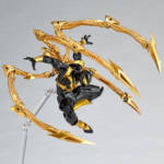 Iron Spider Black and Gold Revoltech 006