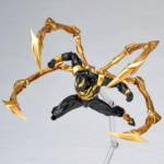Iron Spider Black and Gold Revoltech 007