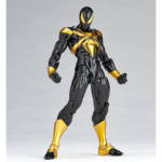 Iron Spider Black and Gold Revoltech 008