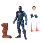MARVEL LEGENDS SERIES 6 INCH IRON MAN Figure Assortment Stealth Iron Man oop 5