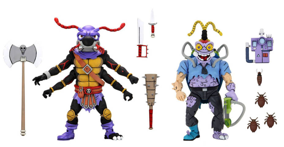 NECA TMNT Antrax and Scumbug 001