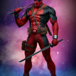 PCS Deadpool MCOC Statue 001