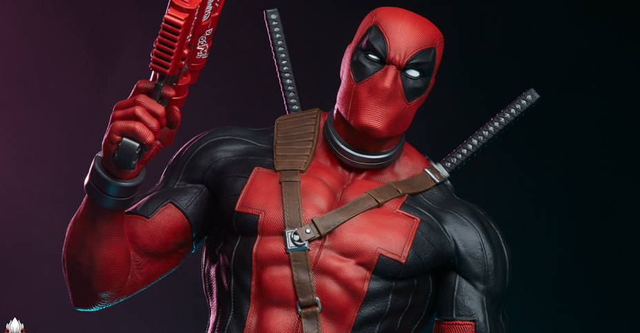 PCS Deadpool MCOC Statue 012