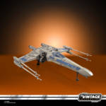 STAR WARS THE VINTAGE COLLECTION ANTOC MERRICK'S X WING FIGHTER Vehicle and Figure oop 3
