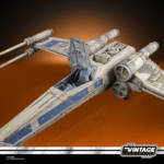 STAR WARS THE VINTAGE COLLECTION ANTOC MERRICK'S X WING FIGHTER Vehicle and Figure oop 4