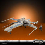 STAR WARS THE VINTAGE COLLECTION ANTOC MERRICK'S X WING FIGHTER Vehicle and Figure oop 7