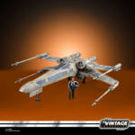 STAR WARS THE VINTAGE COLLECTION ANTOC MERRICK'S X WING FIGHTER Vehicle and Figure oop 8
