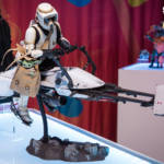 Star Wars Hot Toys Scout Trooper and Speeder Bike Sixth Scale Figure 1