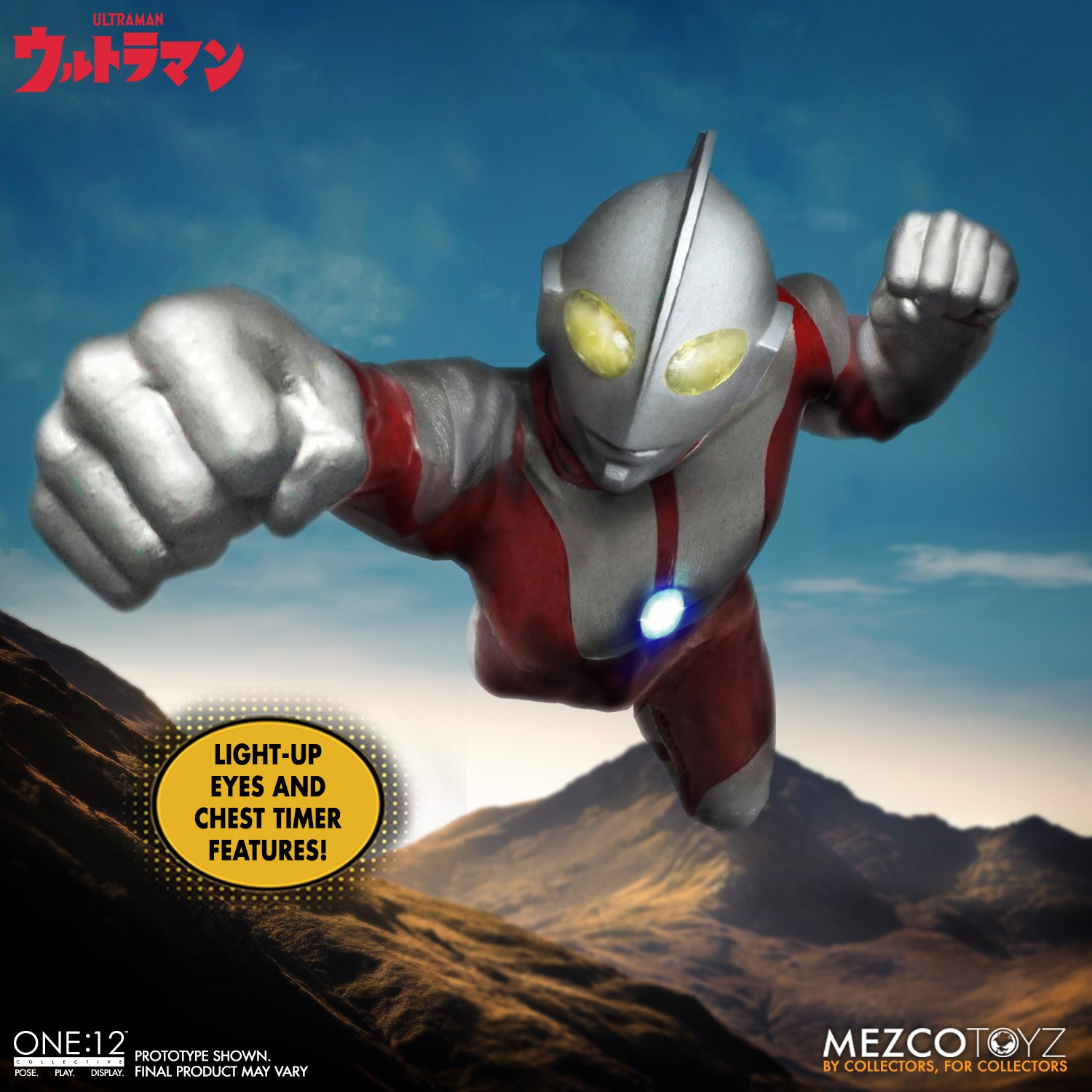 Ultraman One12 Collective 001