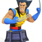 DST Animated Unmasked Wolverine Bust 001