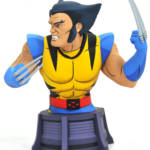 DST Animated Unmasked Wolverine Bust 003