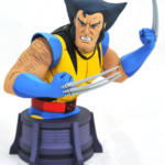 DST Animated Unmasked Wolverine Bust 004