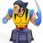 DST Animated Unmasked Wolverine Bust 006