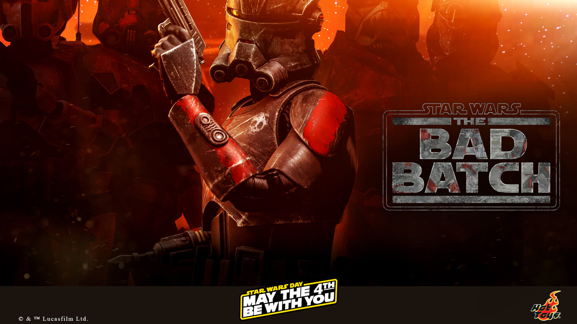 Hot Toys Bad Batch Preview