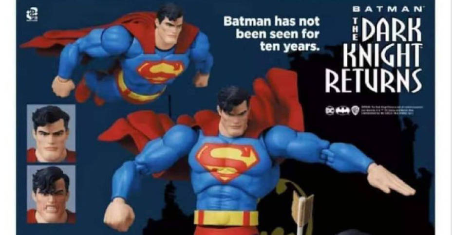 MAFEX TDKR Superman Preview