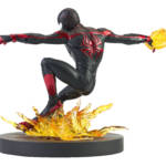 MARVEL GALLERY PS5 MILES MORALES PVC STATUE 2