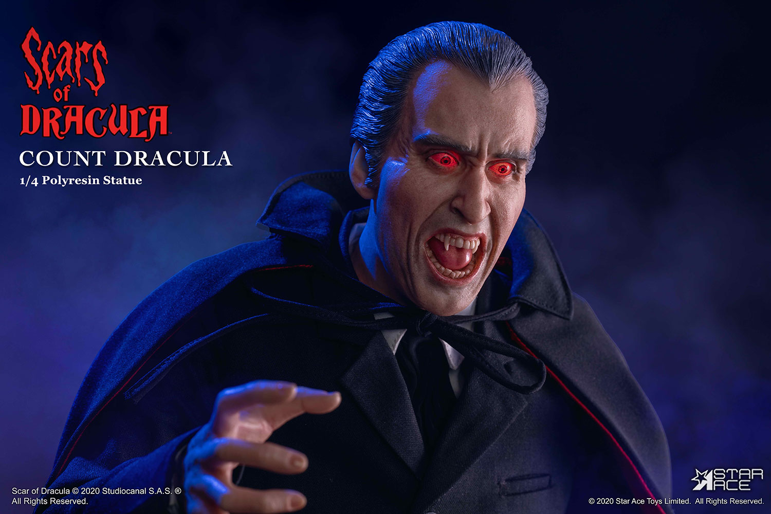 Scars of Dracula Star Ace Statue 006
