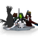 Loot Crate Rise Up Gamora Bust 003