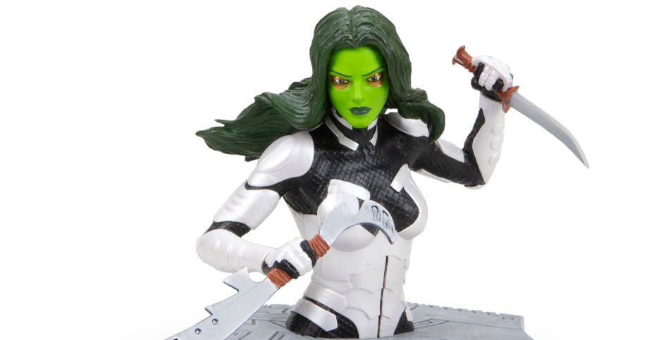 Loot Crate Rise Up Gamora Bust 004