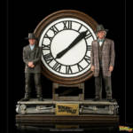 Marty and Doc at the Clock IS 09