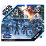 STAR WARS MISSION FLEET CLONE COMMANDO CLASH Figure and Vehicle 4 Pack in pck