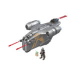STAR WARS MISSION FLEET RAZOR CREST OUTER RIM RUN Figure and Vehicle 2 Pack oop 1
