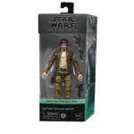 STAR WARS THE BLACK SERIES 6 INCH CAPTAIN CASSIAN ANDOR Figure in pck 2