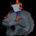 Sentinel Spider Man Into The Spider Verse Parkers 004