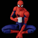 Sentinel Spider Man Into The Spider Verse Parkers 007