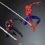 Sentinel Spider Man Into The Spider Verse Parkers 008