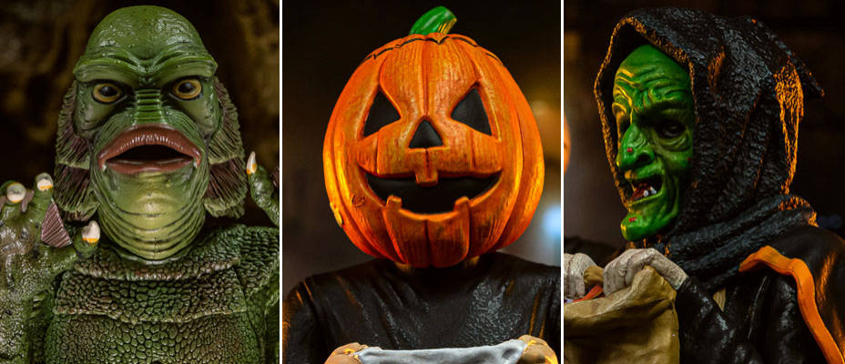 Creature From The Black Lagoon and Halloween III Spinatures by Waxwork Records – Toyark Photo Shoot