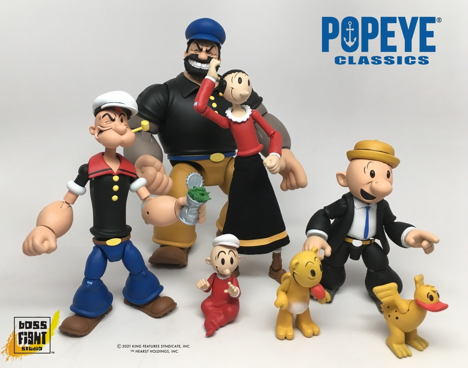 BFS Popeye Figures Preview