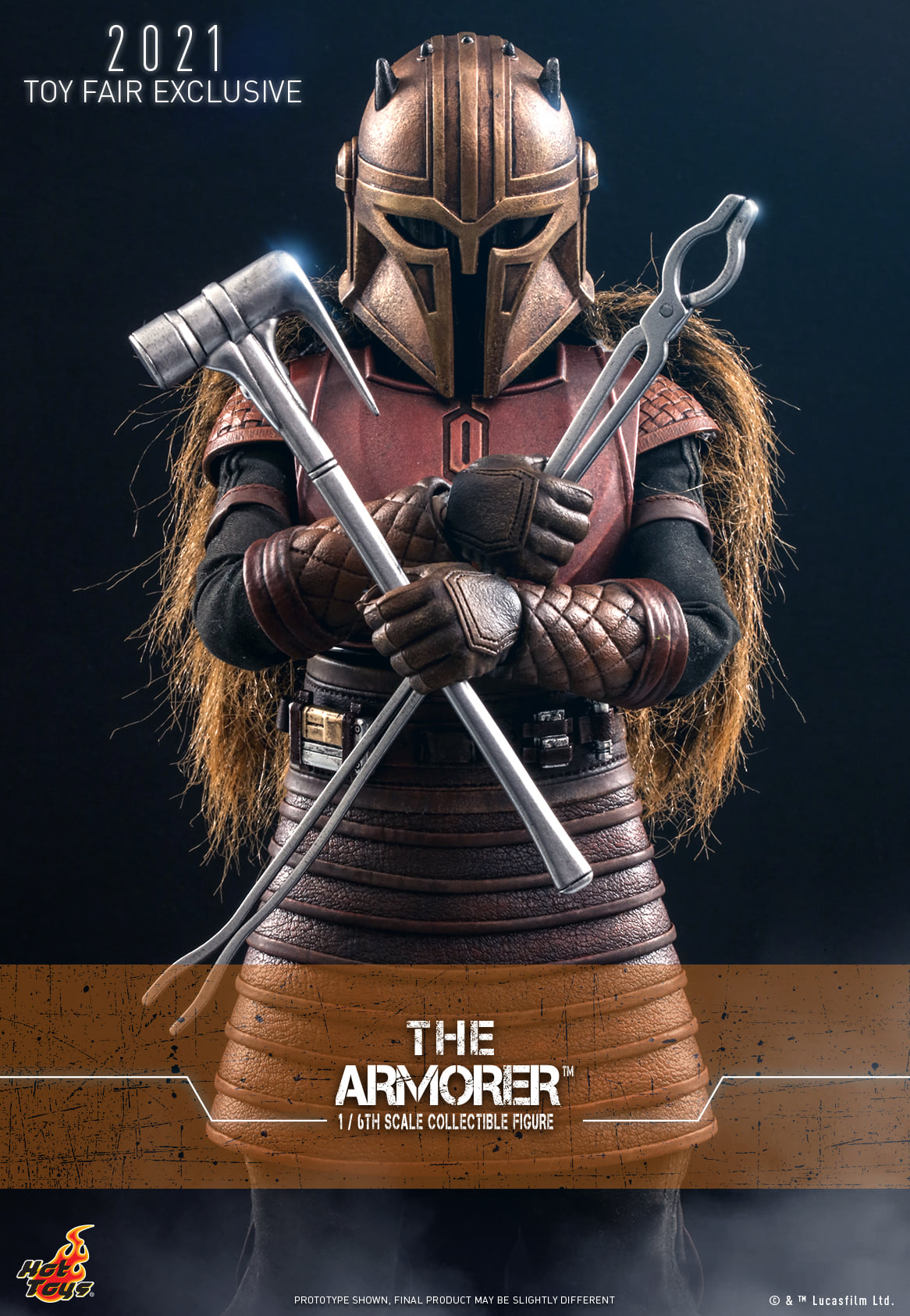 Hot Toys The Armorer 001