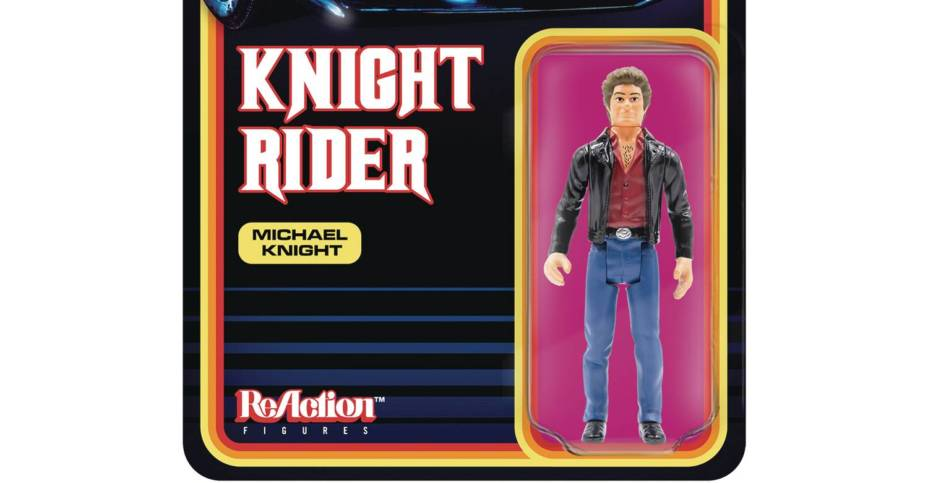 Knight Rider ReAction Figure Preview
