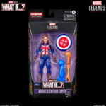 MARVEL LEGENDS SERIES 6 INCH CAPTAIN CARTER Figure in pck with logo