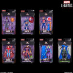 MARVEL LEGENDS SERIES 6 INCH WHAT IF AND LOKI Figures in pck 1