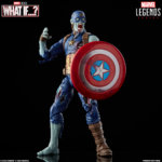 MARVEL LEGENDS SERIES 6 INCH ZOMBIE CAPTAIN AMERICA Figure oop with logo