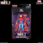 MARVEL LEGENDS SERIES 6 INCH ZOMBIE HUNTER SPIDEY Figure in pck with logo