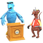 MUPPETS SAM THE EAGLE RIZZO THE RAT DLX FIG SET 5