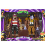 NECA Turtle In Time Bebop and Rocksteady 001