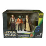 STAR WARS THE BLACK SERIES THE POWER OF THE FORCE CANTINA SHOWDOWN Playset in pck 2